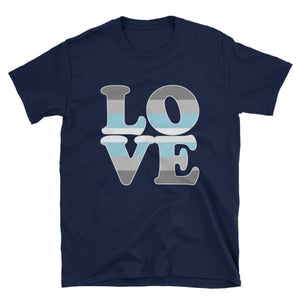 T-Shirt - Demiboy Love Navy / S