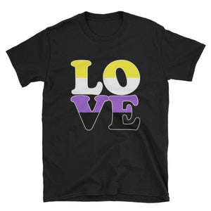 T-Shirt - Non Binary Love Black / S