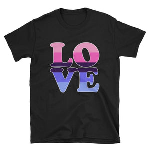 T-Shirt - Omnisexual Love Black / S