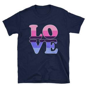 T-Shirt - Omnisexual Love Navy / S