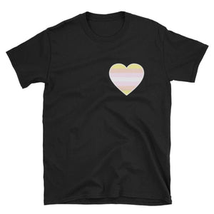 T-Shirt - Pangender Heart Black / S