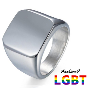 Titanium Ring - Stability Us Size 11 / Silver