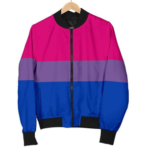 Womens Bomber Jacket - Bisexual