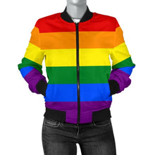 Womens Bomber Jacket - Lgbt