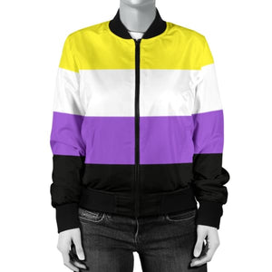 Womens Bomber Jacket - Non Binary