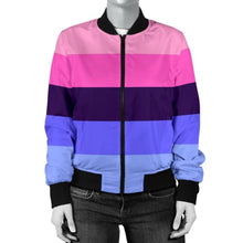 Womens Bomber Jacket - Omnisexual