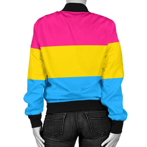 Womens Bomber Jacket - Pansexual
