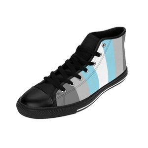Womens High-Top Sneakers - Demiboy Shoes
