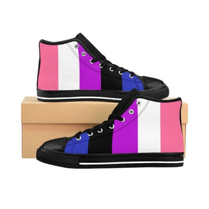 Womens High-Top Sneakers - Genderfluid Us 10 Shoes
