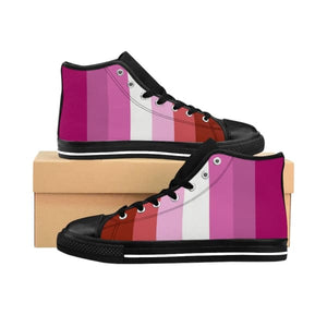 Womens High-Top Sneakers - Lesbian Us 10 Shoes