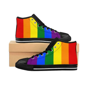 Womens High-Top Sneakers - Lgbt Us 10 Shoes