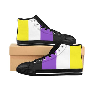 Womens High-Top Sneakers - Non Binary Us 9 Shoes