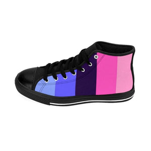 Womens High-Top Sneakers - Omnisexual Shoes