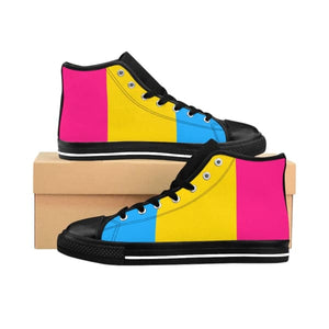 Womens High-Top Sneakers - Pan Us 10 Shoes