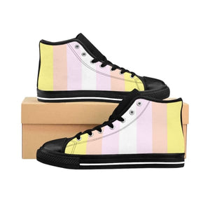 Womens High-Top Sneakers - Pangender Us 9 Shoes