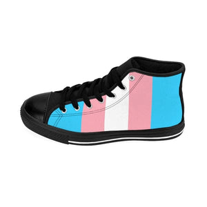Womens High-Top Sneakers - Transgender Shoes