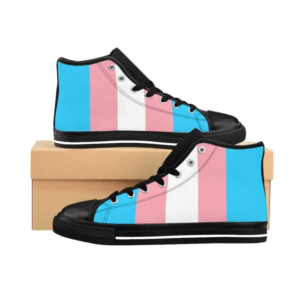 Womens High-Top Sneakers - Transgender Us 10 Shoes