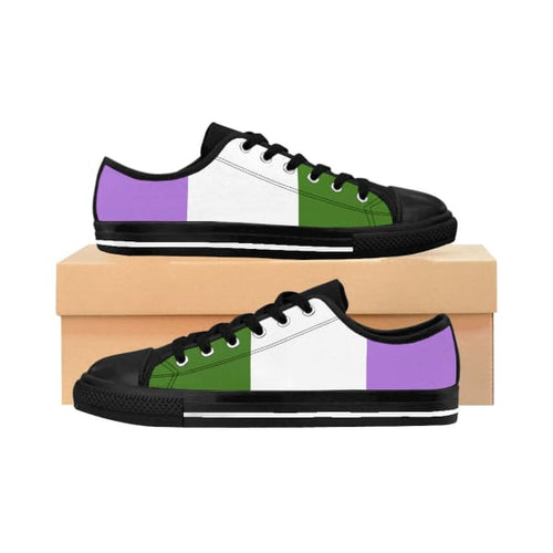 Womens Sneakers - Genderqueer Us 10 Shoes