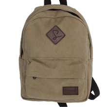 Beige backpack