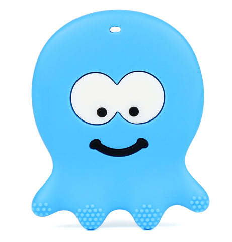 Blue Octopus Teether