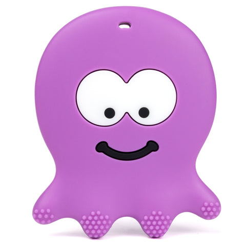 Violet Octopus Teether