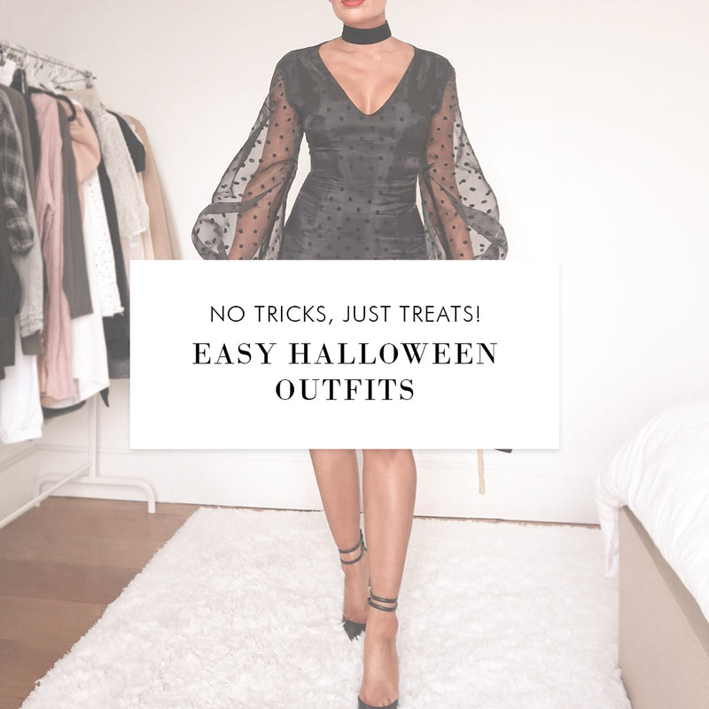 No Tricks; Just Treats! Easy Halloween Outfits