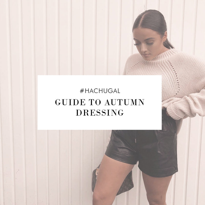 #HACHUGAL: Guide to Autumn Dressing