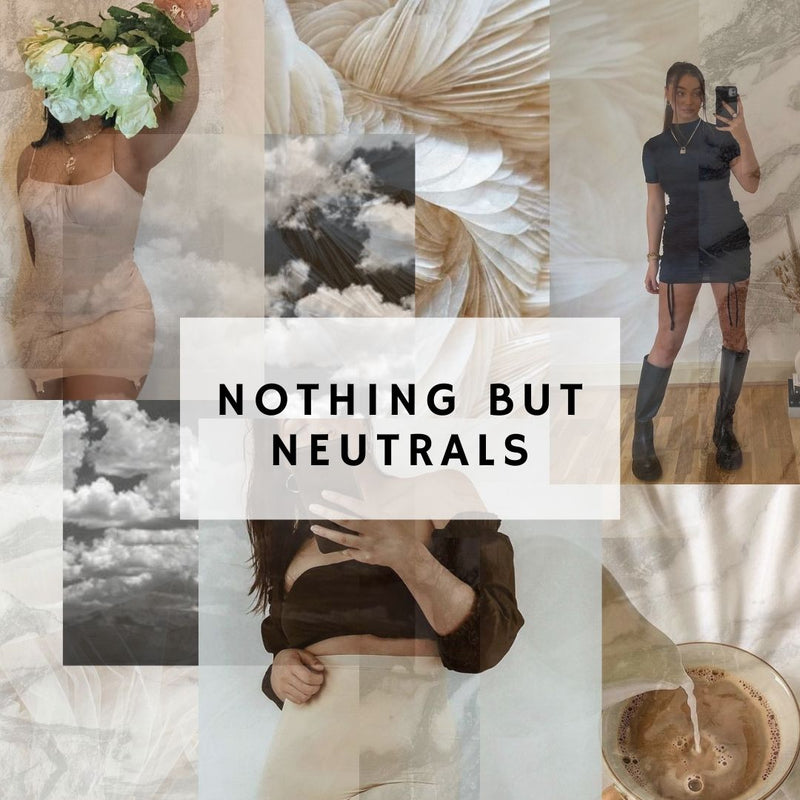 Nothing but Neutrals
