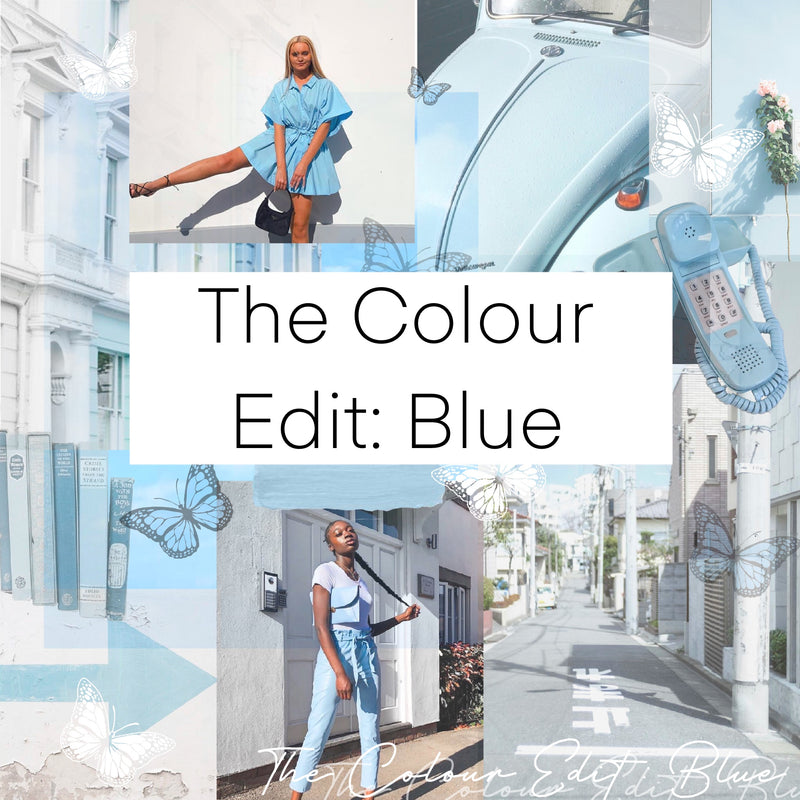 The Colour Edit: Blue