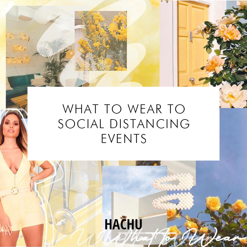 What to Wear to Social Distancing Events