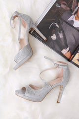 Tammy Open Toe Heels Hachu