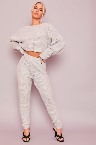 Grey Teddy Co-Ord Set