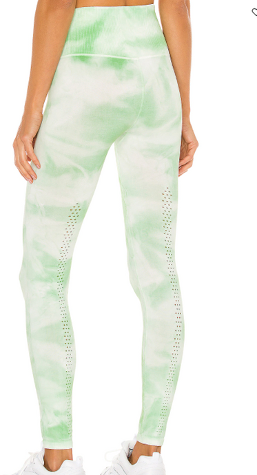good karma tie dye legging