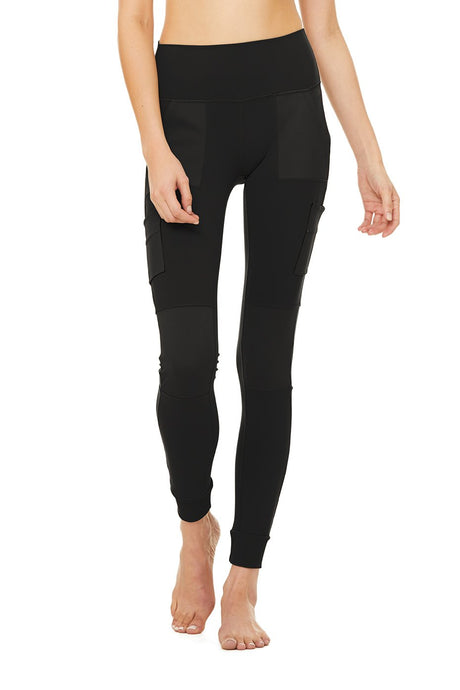 High-Waist Cargo Legging