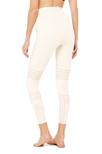 7/8 High-Waist Channel Legging