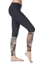 Logan Legging Black/Zoque
