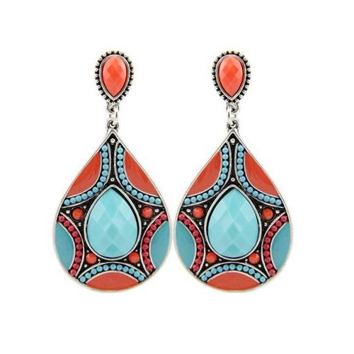 Ethnic Vintage Bohemia Dangle Earrings - Love Touch Jewelry