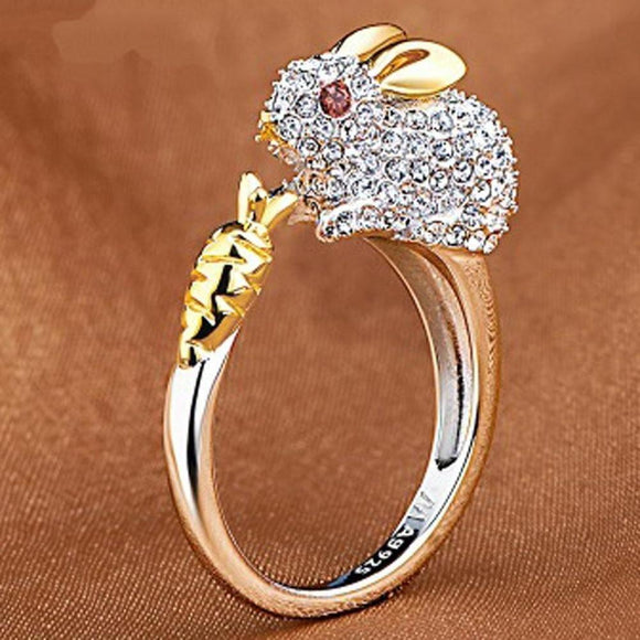 Cute Animals Index Finger Chinese Zodiac Retro Adjustable Rings