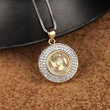 Windmill Necklace CZ Zircon Crystal Necklace - Love Touch Jewelry
