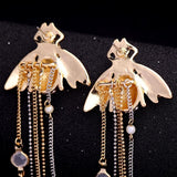 Exquisite Crystal Bee Earrings - Love Touch Jewelry