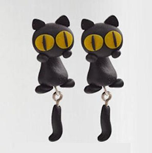 Adorable Handmade Polymer Animal Stud Earrings - Love Touch Jewelry