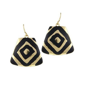 Trendy Symmetrical Loop Earrings - Love Touch Jewelry