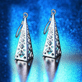 Summer Tower Drop Earrings (925 Sterling Silver) - Love Touch Jewelry