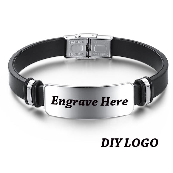 Engraving Personalized Bracelet - Love Touch Jewelry