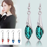 Austria Crystal Dangel Earring - Love Touch Jewelry