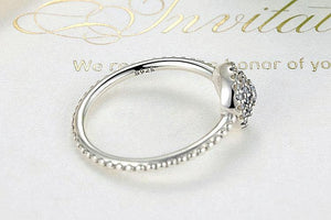 Elegant Radiant Flower Ring (Genuine 925 Sterling Silver) - Love Touch Jewelry