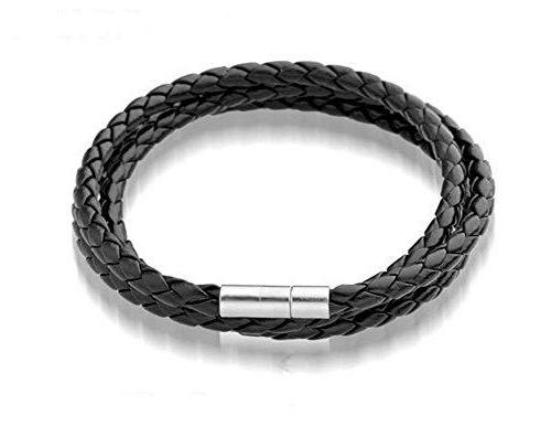 Leather Wristband Bracelet - Love Touch Jewelry