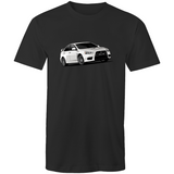 Evo X T Shirt - White - Driven Car Care