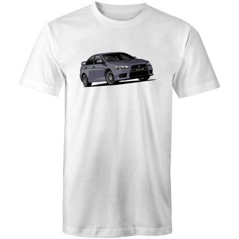 Evo X Grey T-Shirt - Driven Car Care