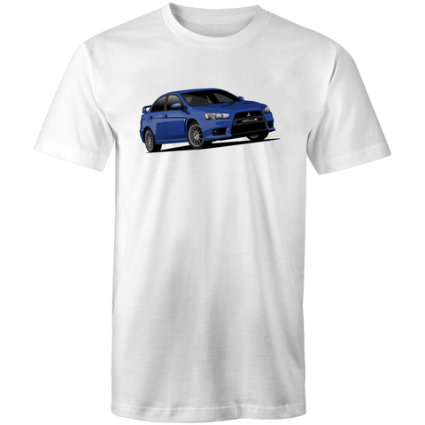 Evo X Blue T-Shirt - Driven Car Care